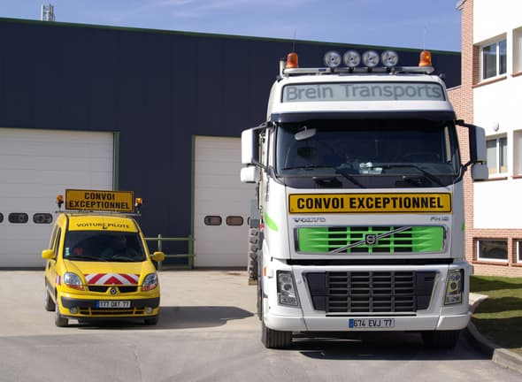 brein transports convois exceptionnel transport