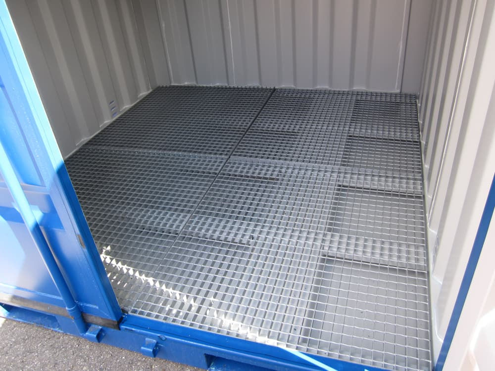 bac de retention container