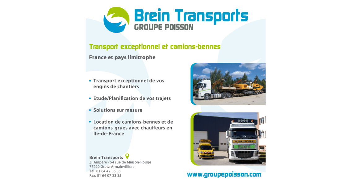 plaquette brein transports groupe poisson